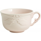 Rocaille Rose Poudre Tea Cups & Saucers - Set 2