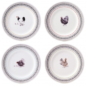 Dessert Plates - Set 4 Assorted