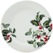 Gien Holly Dinner Plate