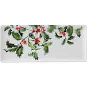 Gien Holly Oblong Serving Tray - 14""