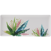 Gien Jardins Extraordinaires Vegetal Oblong Serving Tray