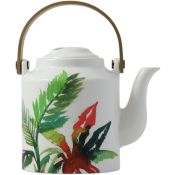 Gien Jardins Extraordinaires Vegetal Japanese Tea Pot