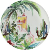 Gien Jardins Extraordinaires Canape Plate  - Mexico