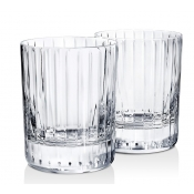 Baccarat Harmonie #2 Double Old Fashion Glass / Boxed Set 2