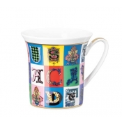 Versace Christmas Holiday Alphabet Mug w/Handle