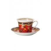 Versace Barocco Holiday Cappuccino Cup & Saucer