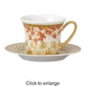 Christmas in Your Heart Cappuccino Saucer -