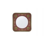 Versace Medusa Red Square Salad Plate - 8.25   sc 1 st  FX Dougherty & Versace Medusa Red Square China