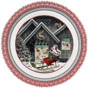 New Series! 2017 Gien Holiday Plate