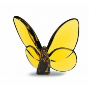 Baccarat Lucky Butterfly Amber