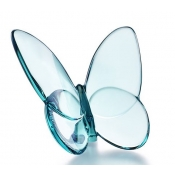 Baccarat Lucky Butterfly Turquoise