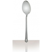 Aria Silverplate Flatware Serving Spoon, Large