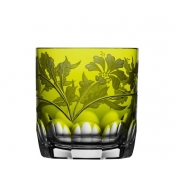 Derby Panel Accent Yellow/Green Double Old Fashioned