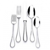 Christofle Perles 2 Stainless - 5 Piece Setting