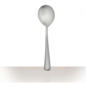 ELEMENTAIRE MATTE Stainless Cream Soup Spoon
