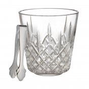 Lismore Ice Bucket W/ Tongs