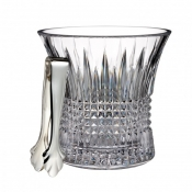 Lismore Diamond Ice Bucket W/ Tongs