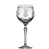 Royal Scroll Clear Water Goblet