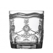 Royal Scroll Clear Double Old Fashioned