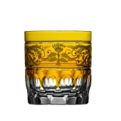 Regency Amber Double Old Fashioned