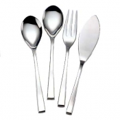 Steel / Nicola Stainless 4 Piece Hostess Set