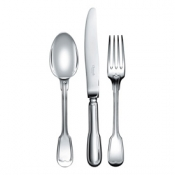 Chinon Silverplate Flatware Standard Fork (Luncheon)