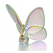 Baccarat Papillon Lucky Butterfly Diamant Irridescent