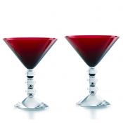 Baccarat Vega Red Martini - Pair