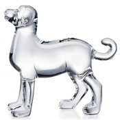 Baccarat Zodiac Dog - Clear