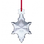 2017 Baccarat  Annual Snowflake Ornament
