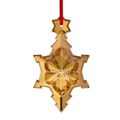 2017 Baccarat  Annual Ornament 20K Gold