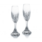 Baccarat Massena Champagne Flute - Pair