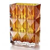 Baccarat Luxour Vase - Amber