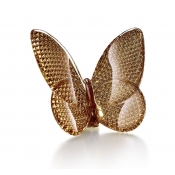 Baccarat Papillon Lucky Diamond Gold