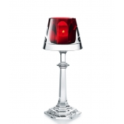 Baccarat Harcourt My Fire Red Candlestick