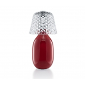 Baccarat Crystal Baby Candy Light  - Red
