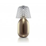 Baccarat Crystal Baby Candy Light  - Gold