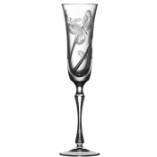 Metamorphoses Clear Champagne Flute