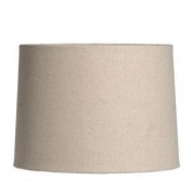 "Barrel Shade - Natural Linen / 8"" x 10"" x 11"""