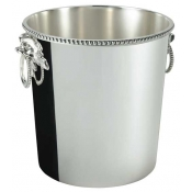 Perles Champagne Bucket w / Applied Border