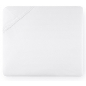 White Cal King Bottom Fitted Sheet - 72 X 84