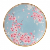 Blue Accent Salad Plate - 8""