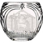 Waterford Nativity Oval Vase