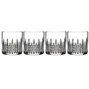 Lismore Connoisseur Diamond Straight Sided Tumbler / Set of 4 - 7 oz.
