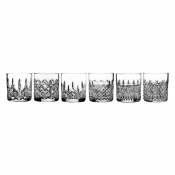Lismore Connoisseur Heritage Straight Sided Tumbler / Set 6 - 7 oz.
