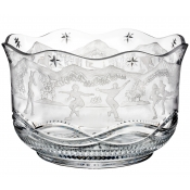 Waterford Engraved Skaters Bowl