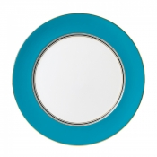 Wedgwood Vibrance Charger / Turquoise - 12.4""