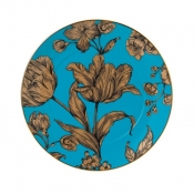 Wedgwood Vibrance Accent Plate / Turquoise - 9.2""