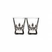 Waterford Lismore Pops Shot Glass / Pair - Clear