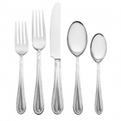 Waterford Lismore Lace Stainless 65-Piece Set